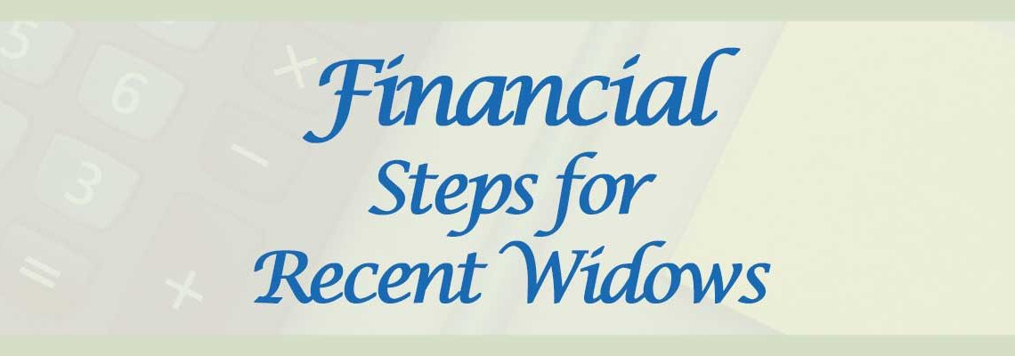 Financial Steps for widows